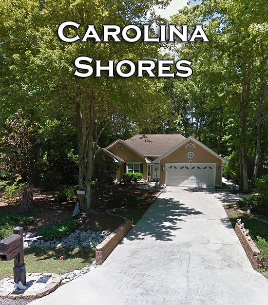 Subdivisions of Carolina Shores