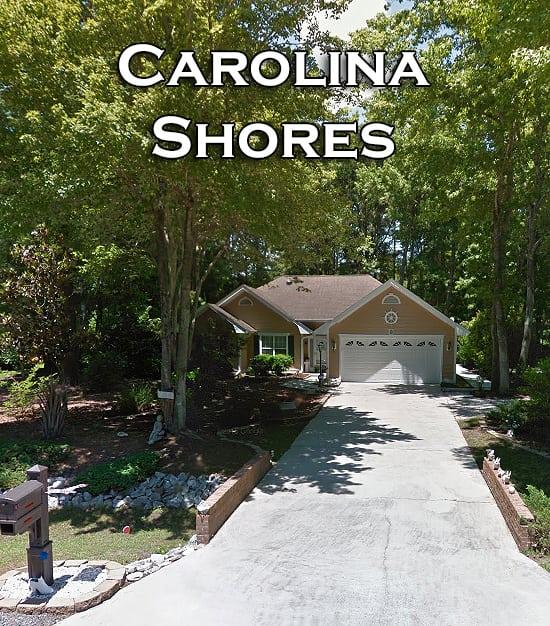 Subdivisions of Carolina Shores