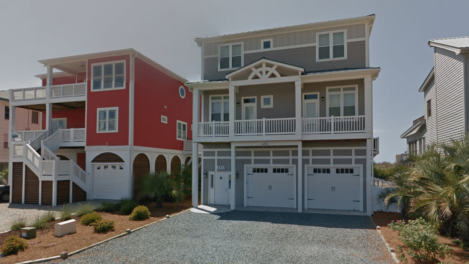 Oceanfront Homes in Ocean Isle Beach