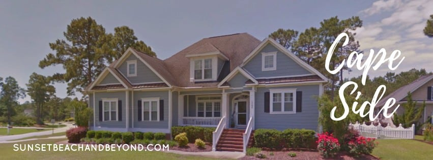 Cape Side Homes in Sunset Beach NC