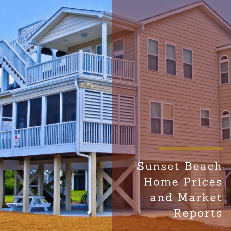 Sunset Beach NC Housing Market Update