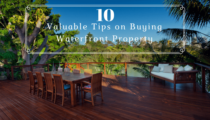 10 Tips for Buying Waterfront Property