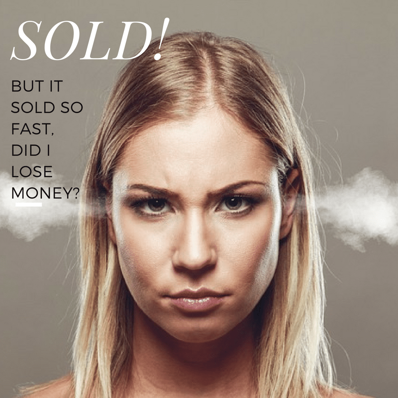 Is it a Bad Thing if Your Home Sells Too Fast?