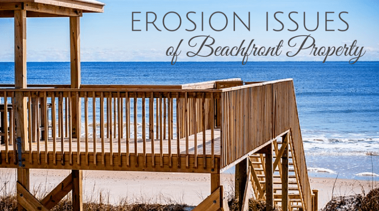 Should I Be Worried About Erosion When Buying a Beach Home?