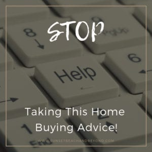 Stop Taking This Home Buying Advice