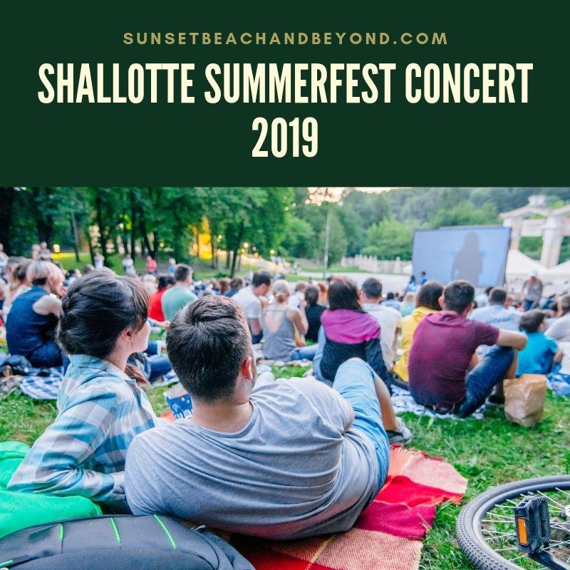 Shallotte SummerFest Concert 2019