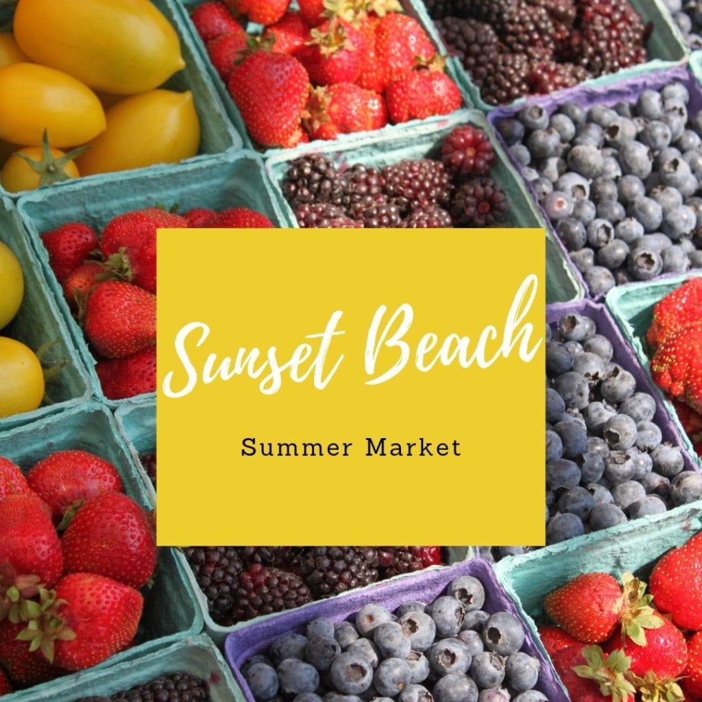 Sunset Beach Summer Farmers Market 2019