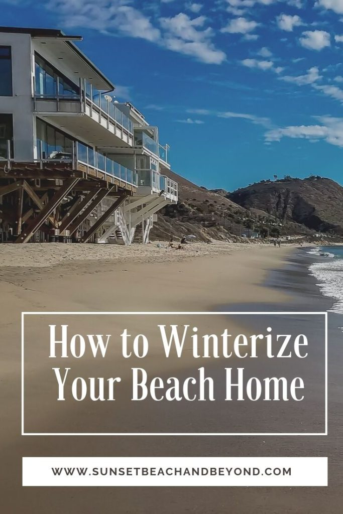 How to Winterize Your Beach Home