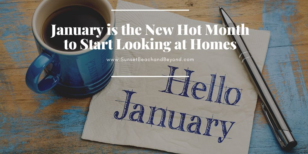 January is the New Hot Month to Start Looking at Homes