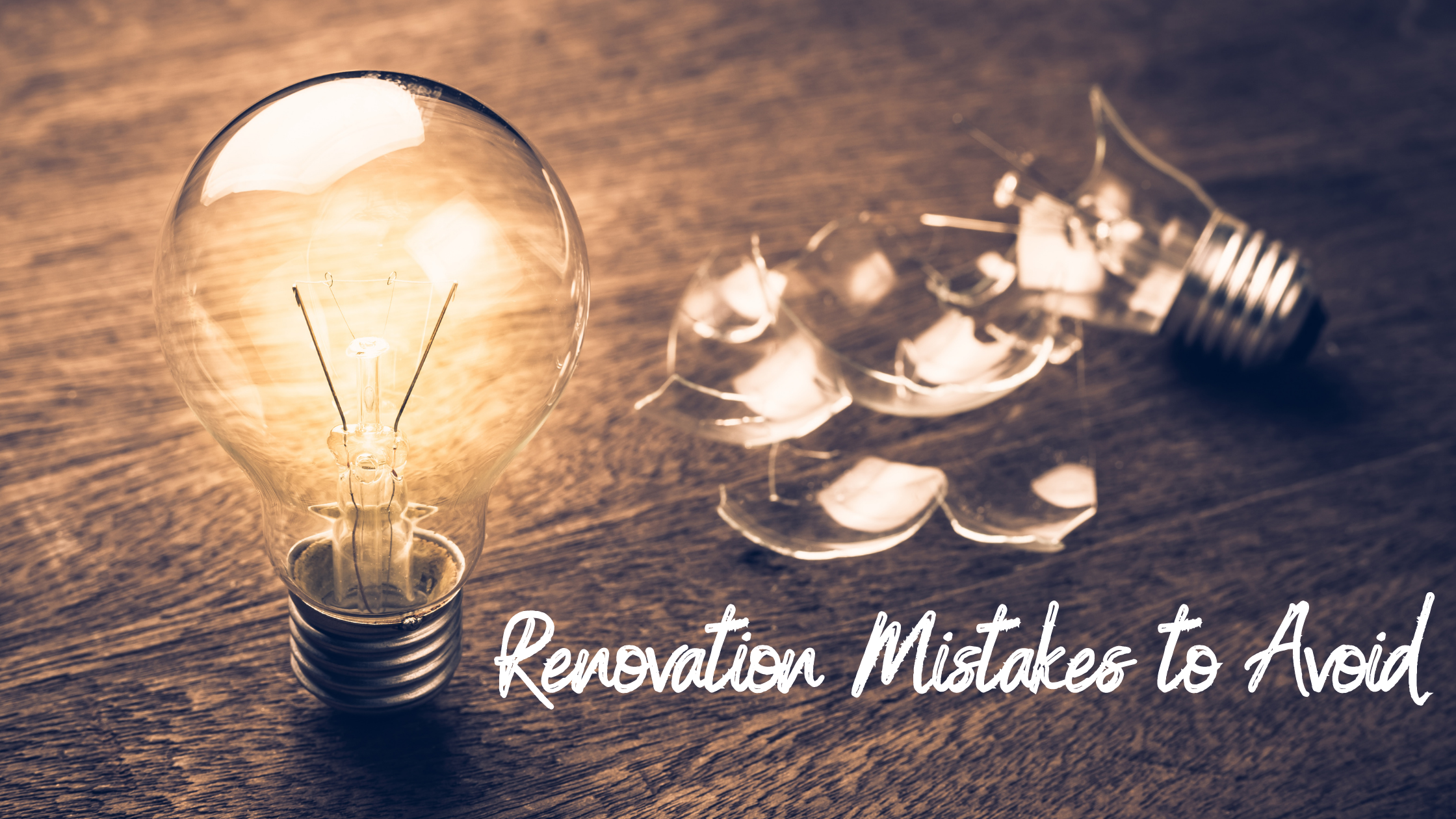 renovation mistakes